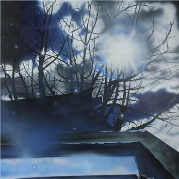 Painting, Sam Nejati, After the Rain, 2020, 34074