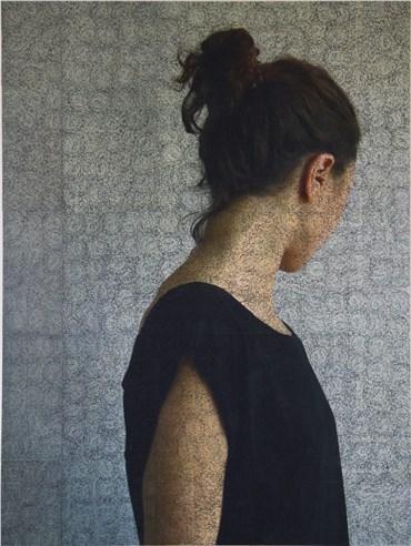 Mixed media, Sepideh Salehi, Mohr Portrait 2, 2017, 28270
