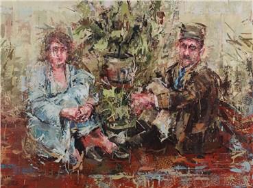 , Hossein Shahtaheri, Two Lovers, 2020, 26808