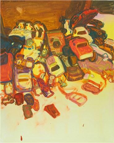 Painting, Sourena Zamani, Little chaos No.2, 2020, 37738