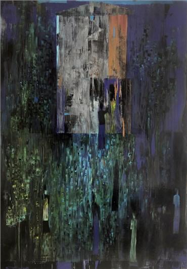 , Reza Derakshani, Moon Light Garden Party, 2019, 24693