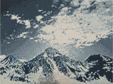 , Golnar Dashti, Digital Panaroma 19200 Pixels, 2021, 47085