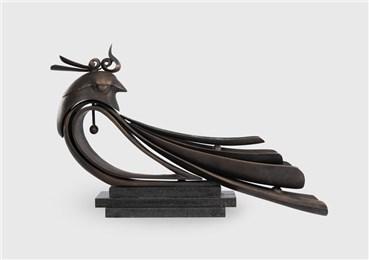 Sculpture, Taha Behbahani, Sultan, 2015, 22863