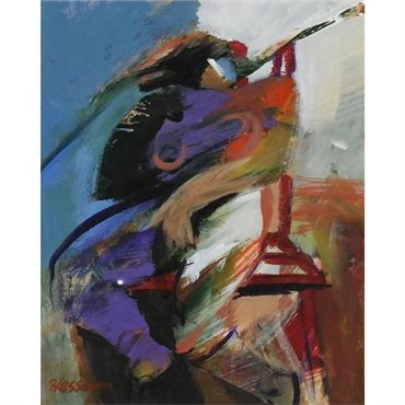 , Hessam Abrishami, Female Figure in Chair, , 21327