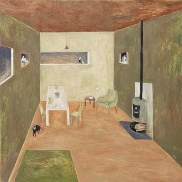 , Noel McKenna, Long Island Interior, Autumn, 2020, 48070