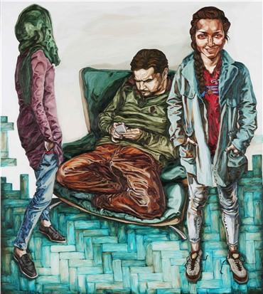 , Shahrzad Monem, Untitled, 2015, 3330