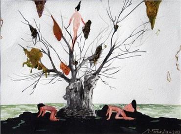 Painting, Mehdi Farhadian, Untitled, 2013, 7077