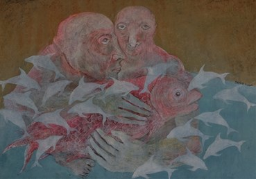 Painting, Mahsa Karimi, Hopeless, 2020, 47686