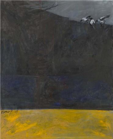 Painting, Manouchehr Motabar, Untitled, 1991, 35968