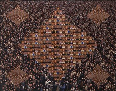 , Sadegh Tirafkan, Human Tapestry, 2010, 7906