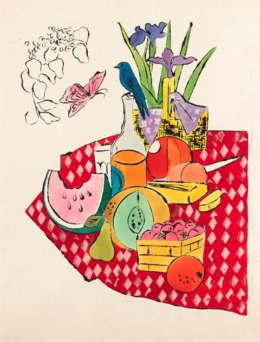 , Andy Warhol, The Picnic, 1960, 50636