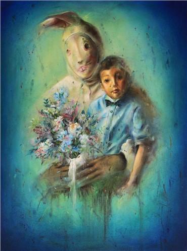 , Nafiseh Emran, Bunny & the Boy, 2018, 19918