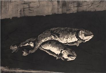 , Marjan Seyedin, Nature morte aux poissons (Still Life With Fish), 2018, 15652