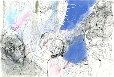 Drawing, Mohammad Ali Baniasadi, Untitled, , 38135