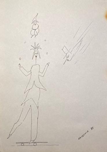 , Ardeshir Mohassess, Untitled, 1985, 47042