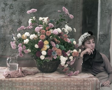 , Tony Vaccaro, After Degas: Woman and Flowers, New York City 1960, 1960, 49328