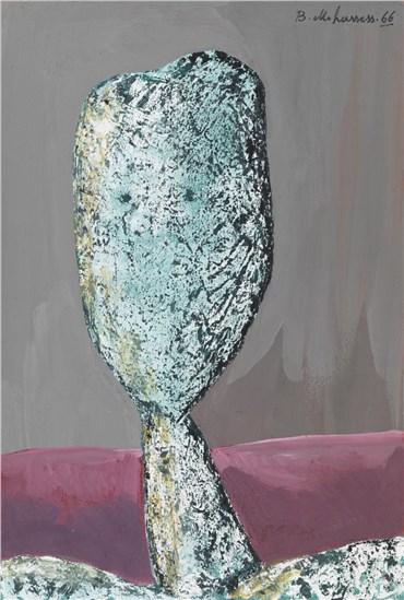 Painting, Bahman Mohassess, Head III, 1966, 21524