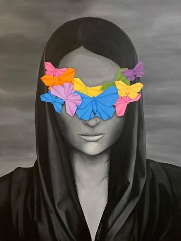 Sameh Khalatbari, Butterfly Coexistence, 2019, 9947