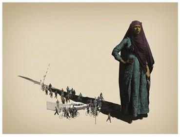 , Amin Roshan, Shadow of Friend, 2013, 10951