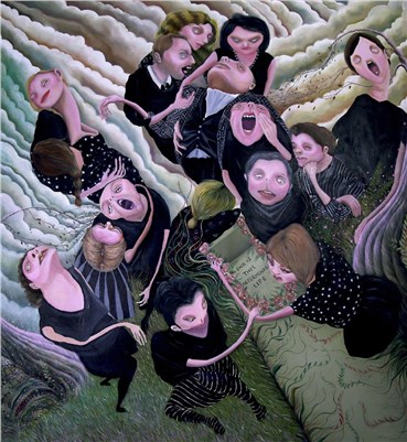 , Niloofar Mohammadifar, The End of This Life That Was Meant to End Was Endless, 2017, 29482