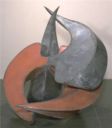 Sculpture, Shirazeh Houshiary, The Earth is an Angle, 1987, 17989