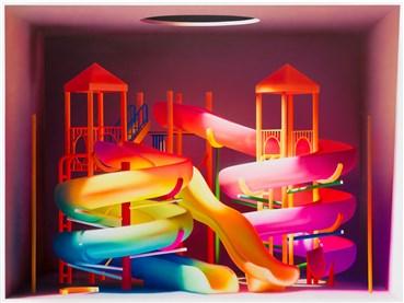 Painting, Mehdi Ghadyanloo, Rainbow Talks, 2020, 34198