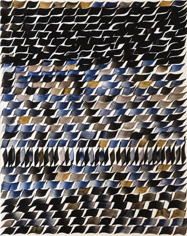 , Charles Hossein Zenderoudi, Untitled, 1970, 5196
