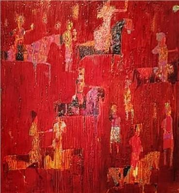 , Reza Derakshani, Hunt Red, 2016, 19053