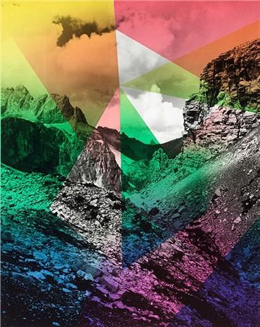 , Shirana Shahbazi, Composition with Mountain, 2014, 10290