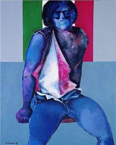 , Bahman Mohassess, Untitled, 1989, 25499