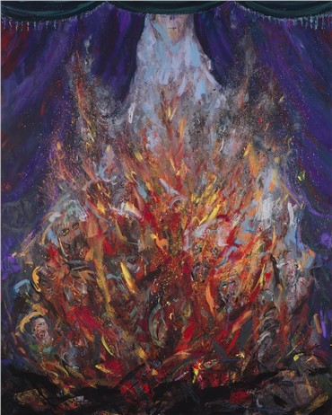 Painting, Alireza Adambakan, Untitled, 2018, 14118