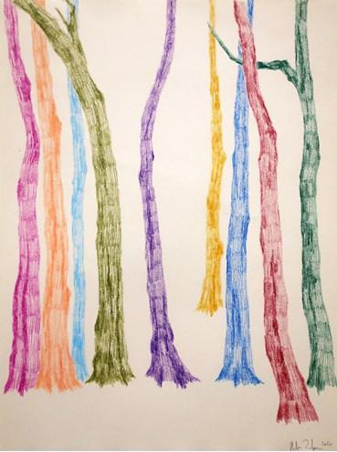 Neda Zarfsaz, Branches of Leaves 10, 2020, 10064