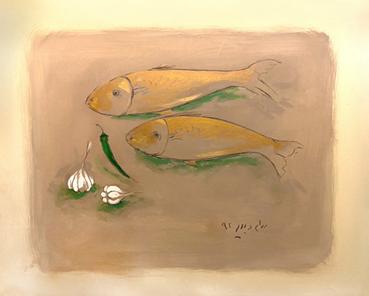 , Bahram Dabiri, Fish and Garlics, 2013, 47208