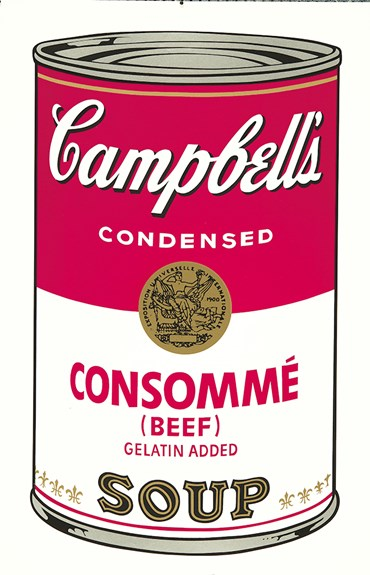 Andy Warhol, Campbell's Soup Cans, 1968, 0