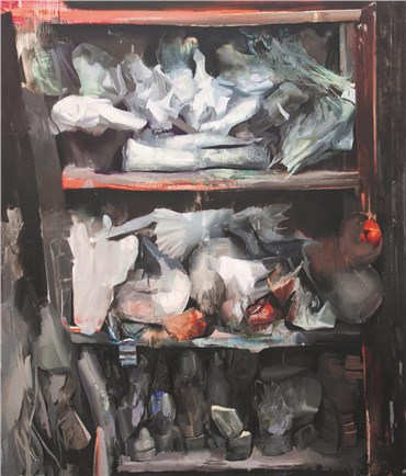 , Hamid Yaraghchi, Private Collection II, 2018, 30444