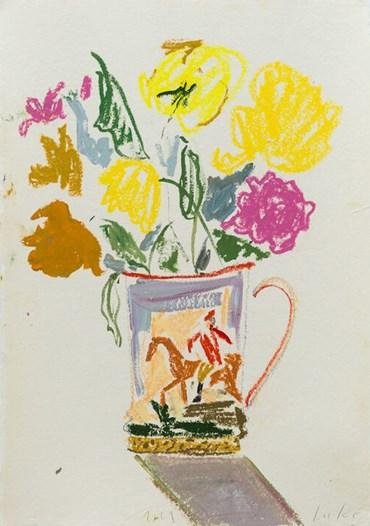 , Luke Edward Hall, Roses in a Hunting Tankard, 2021, 49830