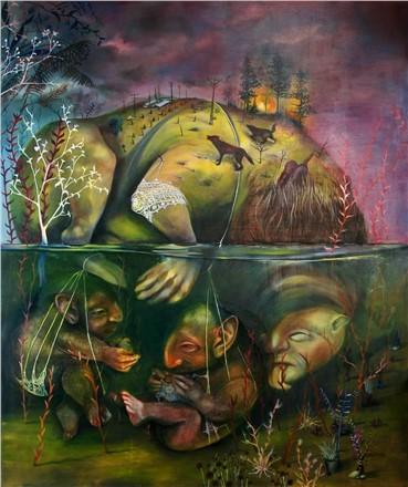 , Nasim Davari, Marvels of Creatures and Strange Things Existing, 2015, 17010