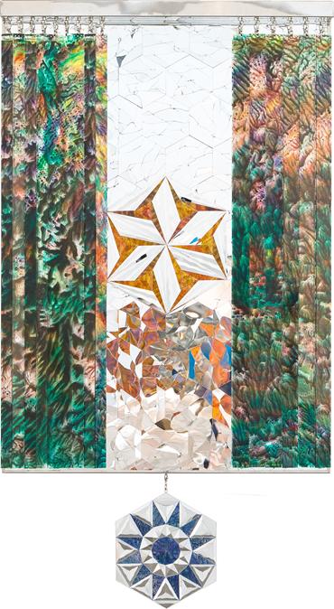 , Monir Shahroudy Farmanfarmaian, Hexagon Rainbow, 2018, 47730
