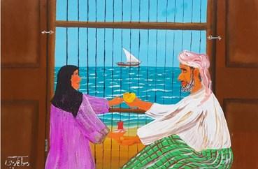 Painting, Nakhoda Abdolrasoul Gharibi, Untitled, 2019, 49067