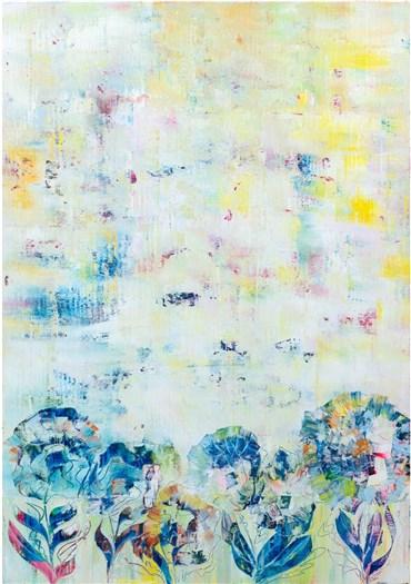 , Sassan Behnam Bakhtiar, Fleurs de l'Âme Bleues , 2020, 28160