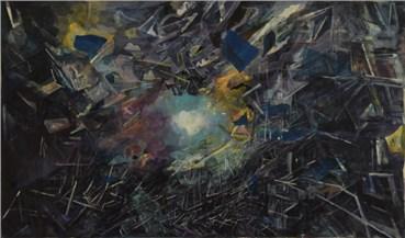 Painting, Yasaman Nozari, Gravity, 2018, 28036
