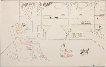 , Saul Steinberg, Untitled, 1983, 47951