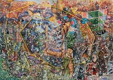 , Behrang Samadzadegan, The Triumph of Death, After Palermo Fresco, 2020, 46908