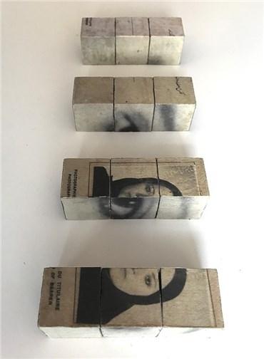 , Golnar Adili, Personal History Wood Blocks, 2019, 25386