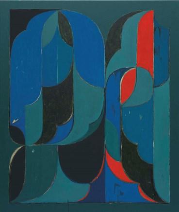 , Kamrooz Aram, Untitled (Arabesque Composition), 2021, 49421