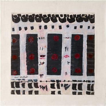 Works on paper, Ahmad Nasrollahi, Untitled, 2001, 19612