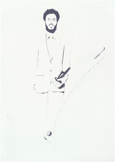 , Barbad Golshiri, The Portrait of the Artist as the Winner, 2005, 10161