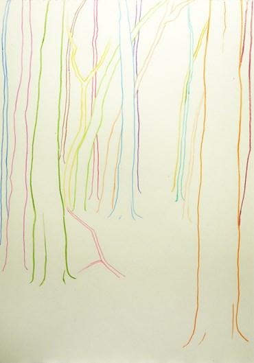 Neda Zarfsaz, No Forest inbetween the Trees III, 2020, 10064