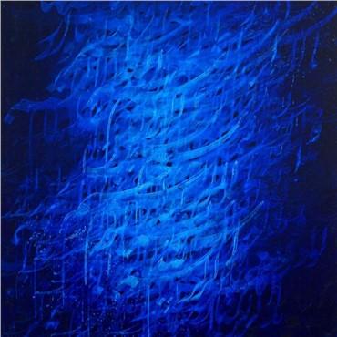 , Ahmad Mohammadpour, Persian Blue, 2015, 14084