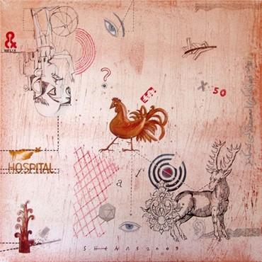 , Jamshid Haghighat Shenas, Untitled, 2009, 2167